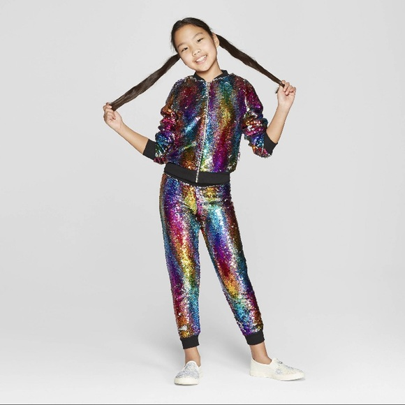 9f6c7c40dc6 Nickelodeon JoJo's Closet Flip Sequin Rainbow Set